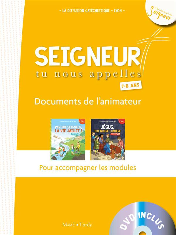 7-8 ANS - DOCUMENT ANIMATEUR BLANC + DVD - MODULES 4 ET 5